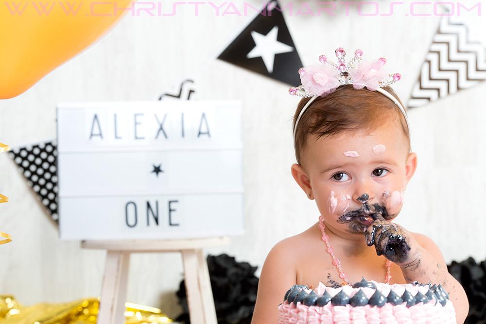 Reportaje fotográfico de cake smash