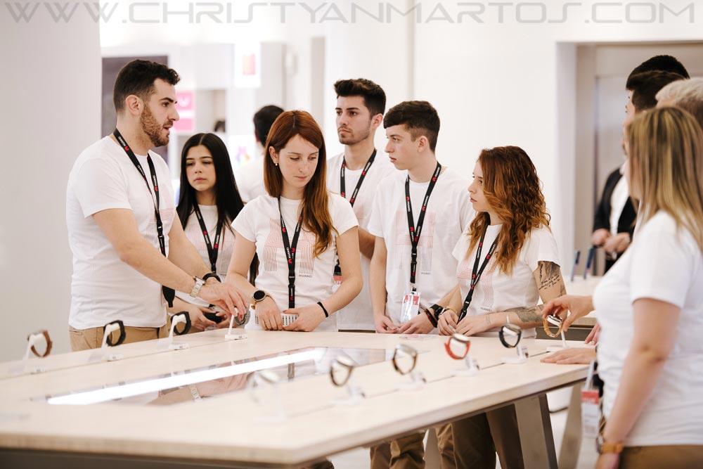Huawei inaugura tienda en Barcelona