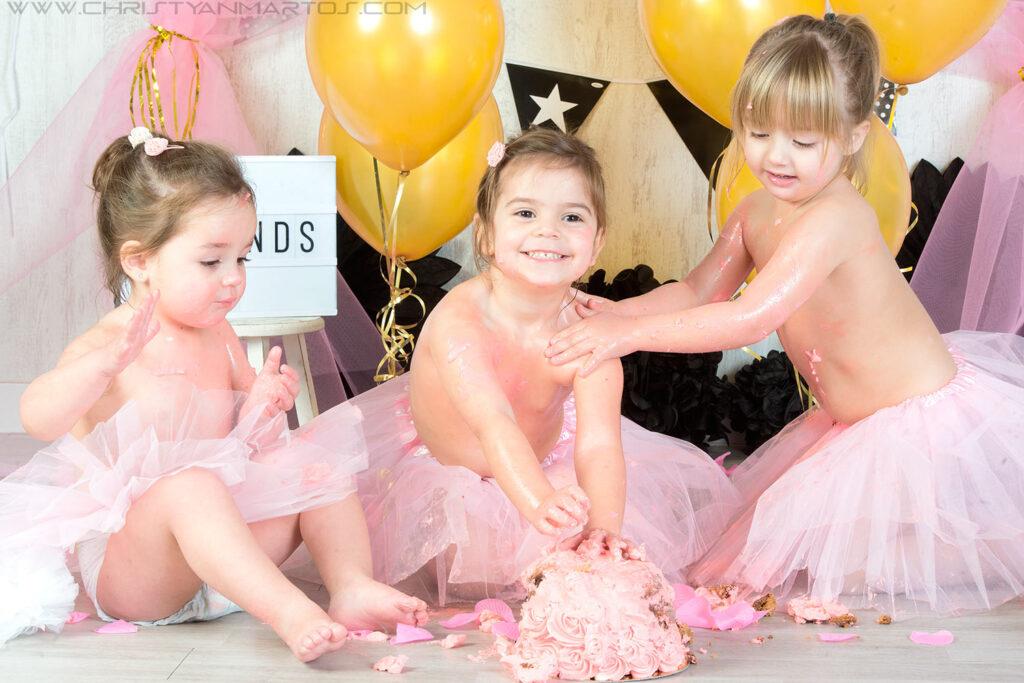 Princesas smash cake