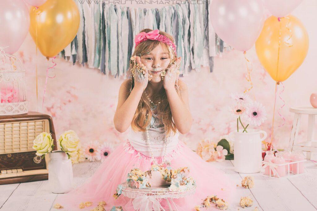 smash cake princesa, smash cake Barcelona, smash cake session, tarta de cumpleaños, tartas,